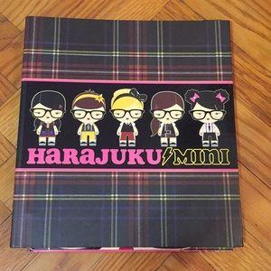 Harajuku Mini binder and folders